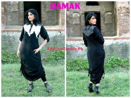 Winter Dresses For Women By Damak