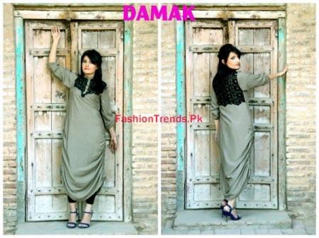 Women Winter Dresses By Damak