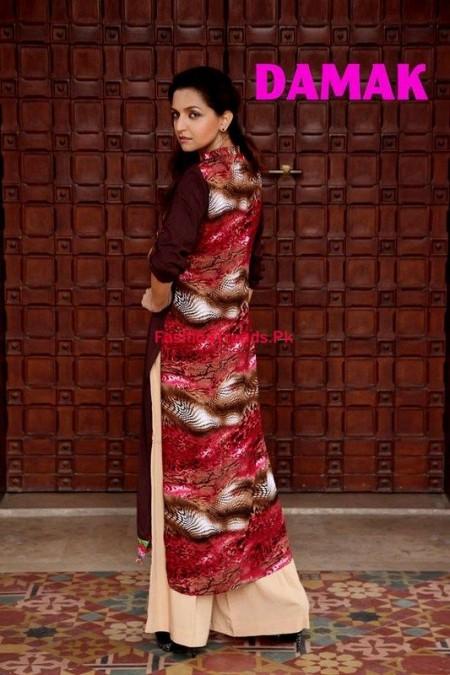 Women Winter Dresses Collection By Damak