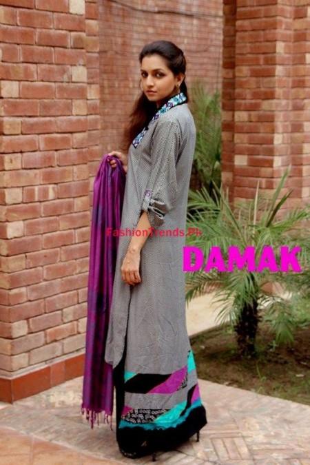 Damak Winter Dresses Collection For Women