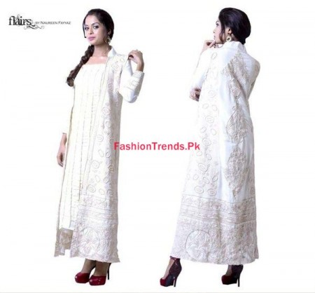 Flairs By Naureen Fayyaz Women Winter Dresses