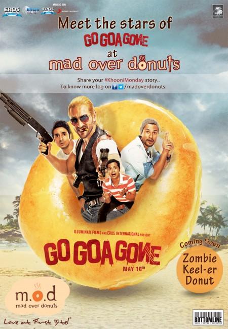 Movie Go Goa Gone 2013 Poster
