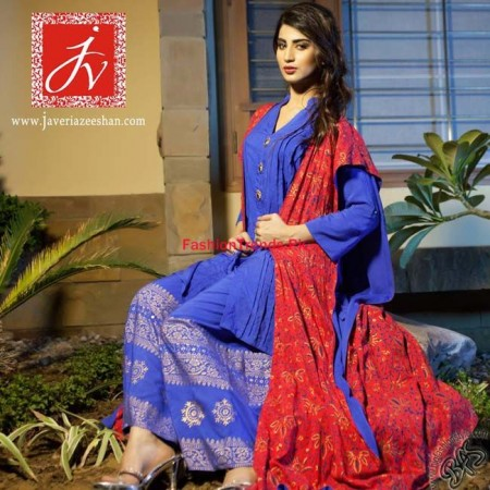 Javeria Zeeshan Winter Dresses Collection 2013-2014 For Women