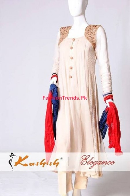 Kashish Winter Dresses 2014 for Women