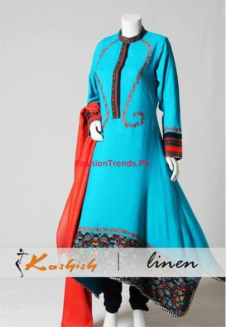 Kashish Winter Dresses Collection 2014