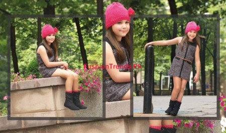 Kids Breakout Winter Dresses For Kids 2013-2014