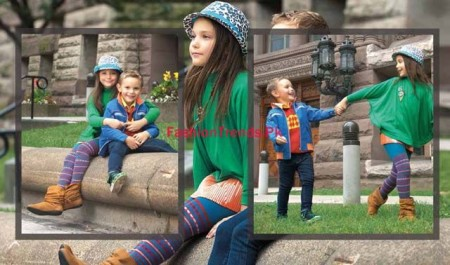 Kids Breakout Winter Dresses Collection 2013-2014