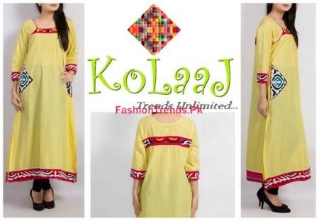 Kolaaj Winter Dresses Collection For Women