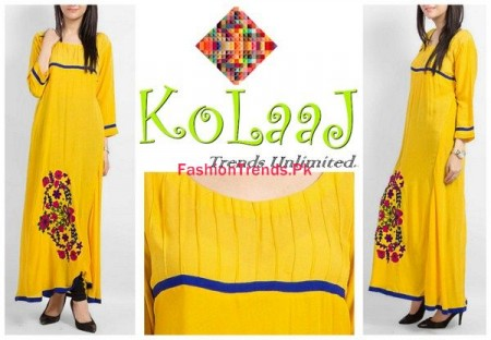Kolaaj Winter Dresses 2013-2014