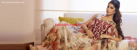 Javeria Zeeshan Winter Dresses 2013-2014 For Women