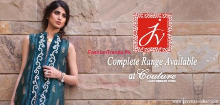 Javeria Zeeshan Winter Dresses