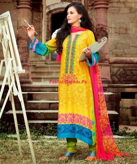 Maria B Indian Dresses 2013 2014