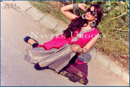 Naveen Uroosa Winter Casual Dresses 2013-2014 For girls Women