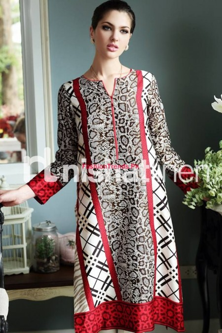 Linen Latest Winter Dresses For Women By Nishat