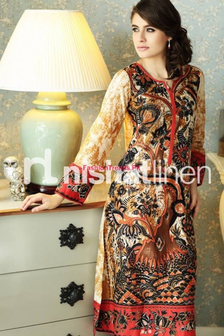 Nishat Linen Latest Winter Pret Wear Collection