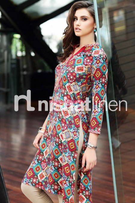 Nishat Linen Latest Winter Dresses Volume 2