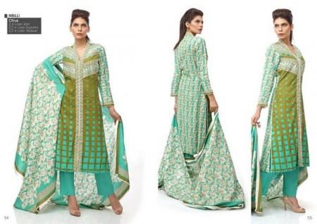 Orient Linen Women Dress 2013-2014 by Orient Textiles