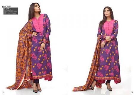 Orient Linen Women Dress 2013-2014 by Orient Textiles pink dress