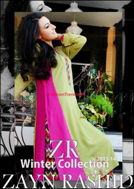 Pakistani Winter Dresses By Zayn Rashid