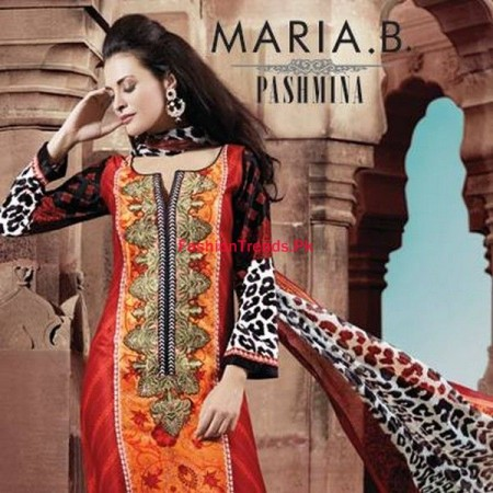 Indian Pashmina Dress Collection for Women By Maria B