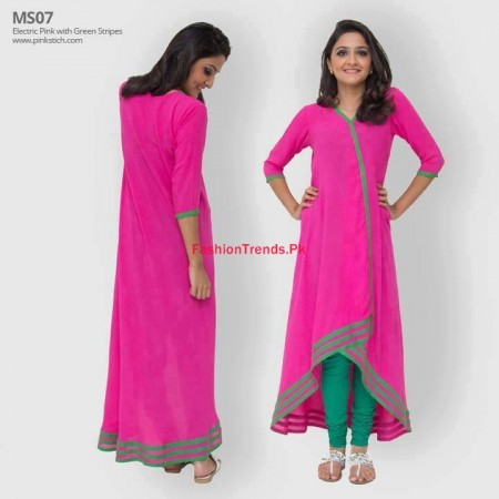 Pinkstich Winter Dresses Collection for Women 2013-2014