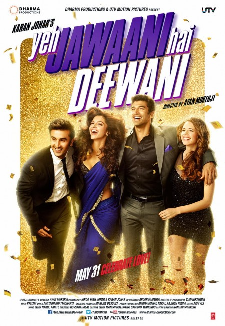 Movie Yeh Jawaani Hai Deewani 2013 Poster