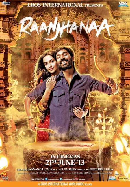 Movie Raanjhanaa 2013 Movie Poster