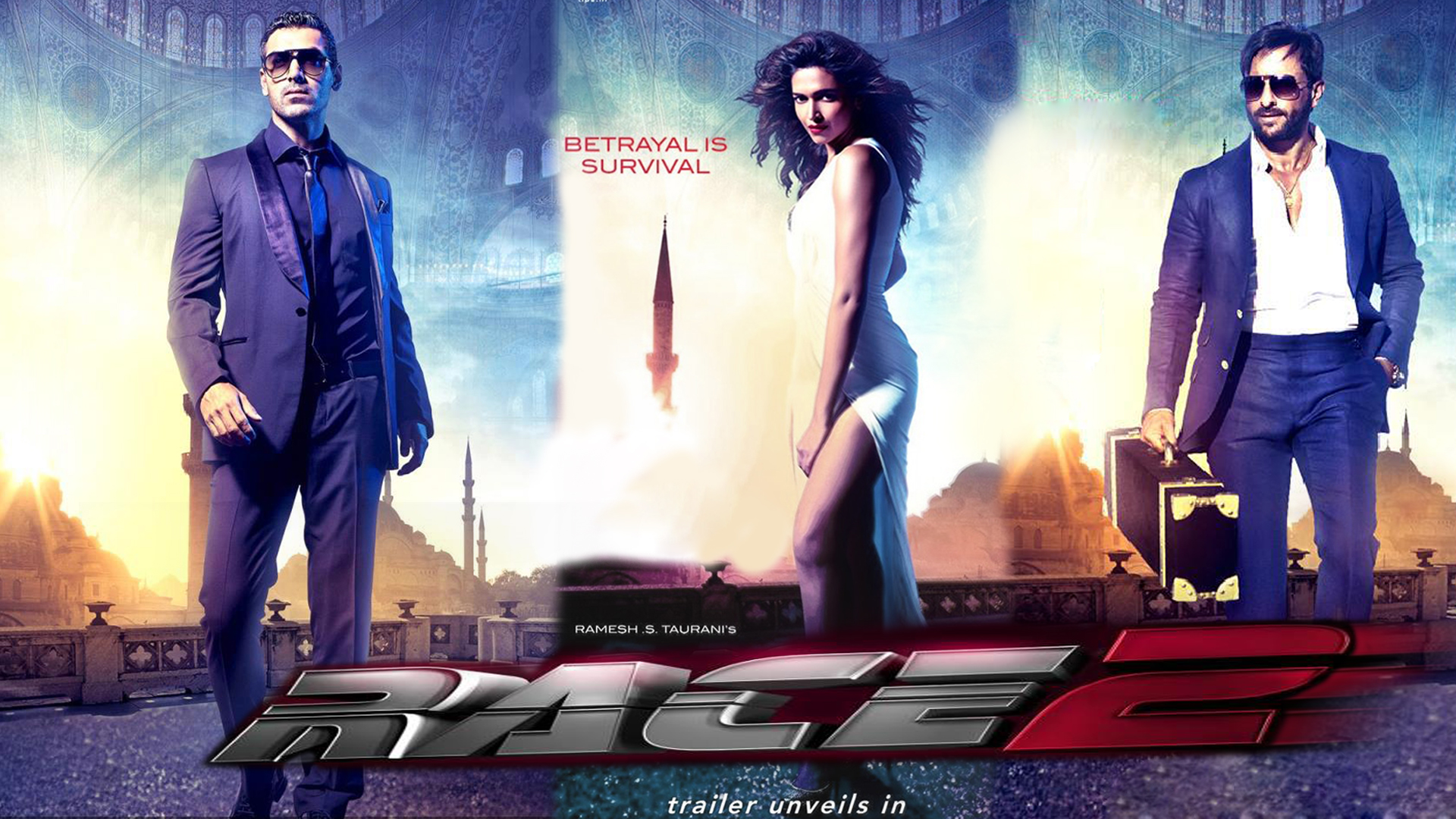 Movie 2013 Race 2 Poster