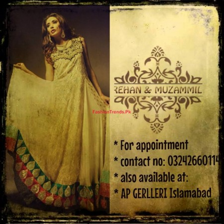 Formal Dresses Collection By Rehan and Muzammil