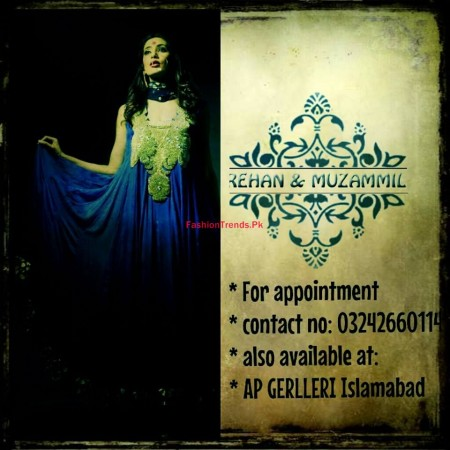 Rehan and Muzammil Formal Wear For Women