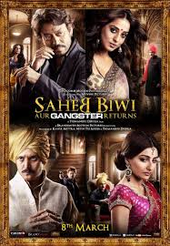 Movie Saheb, Biwi Aur Gangster Returns 2013 Poster