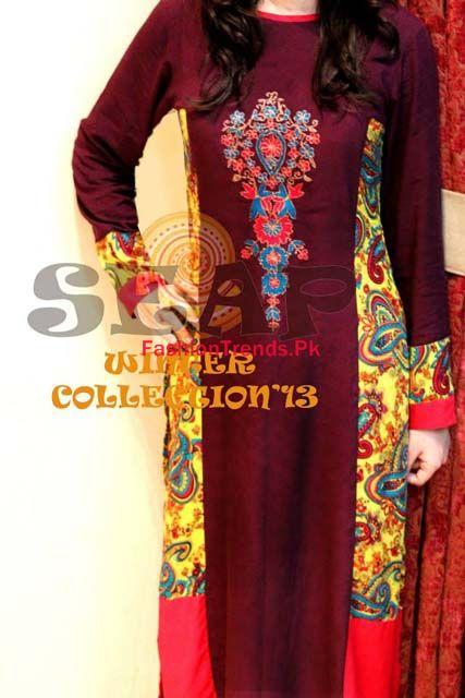 Seap by Sanaa Arif Women Winter Dresses Collection