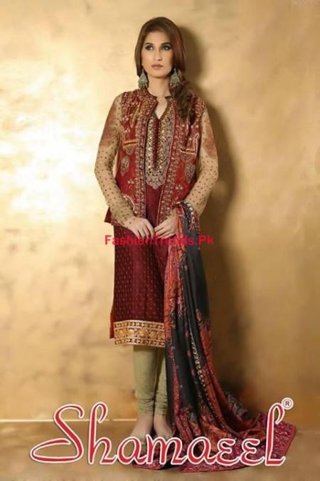 Shamaeel Ansari Winter Dresses Collection For Women