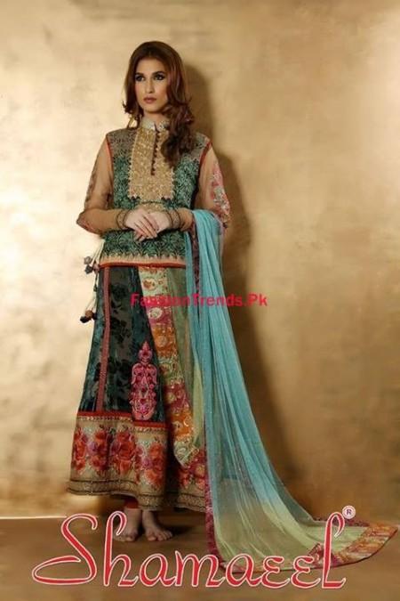 Winter Dresses Collection by Shamaeel Ansari