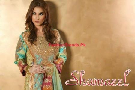 Winter Dresses Collection for Women by Shamaeel Ansari