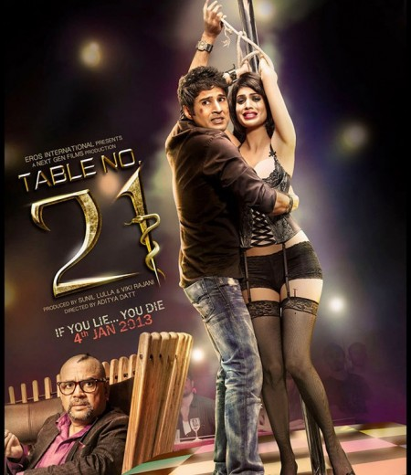 Table No. 21 Movie 2013 Poster
