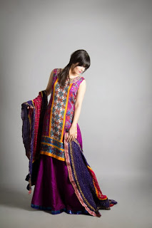 Umbereen and Sharmeen Winter Dresses 2013-2014 For Girls