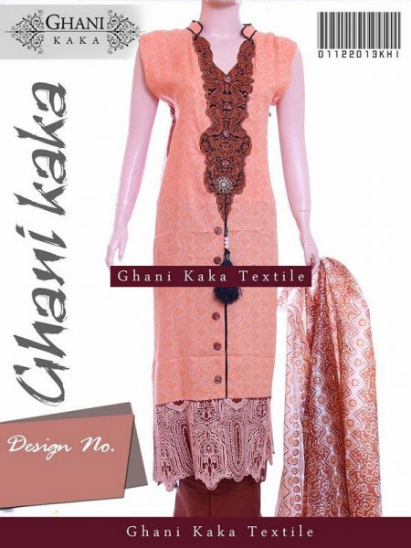 Ghani Textile Winter Clothes 2014 For Women