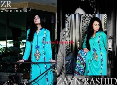Zayn Rashid Marina Linen Winter Collection For Women