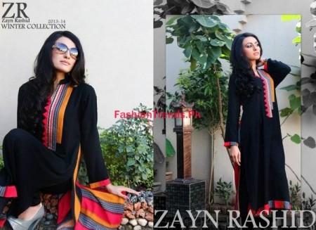 Zayn Rashid Ready To Wear Winter Dresses Collection