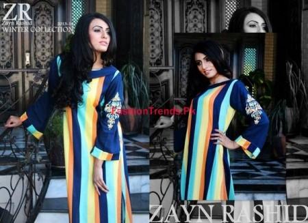 Zayn Rashid Formal Dresses Design 2013-2014