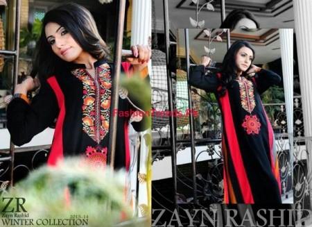 Zayn Rashid Winter Dress Collection For Women