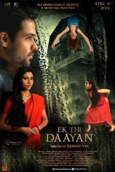 Indian movievEk Thi Daayan 2013 Poster