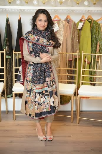Nida Azwer Hand Embroidered Shawls and Bridal Couture