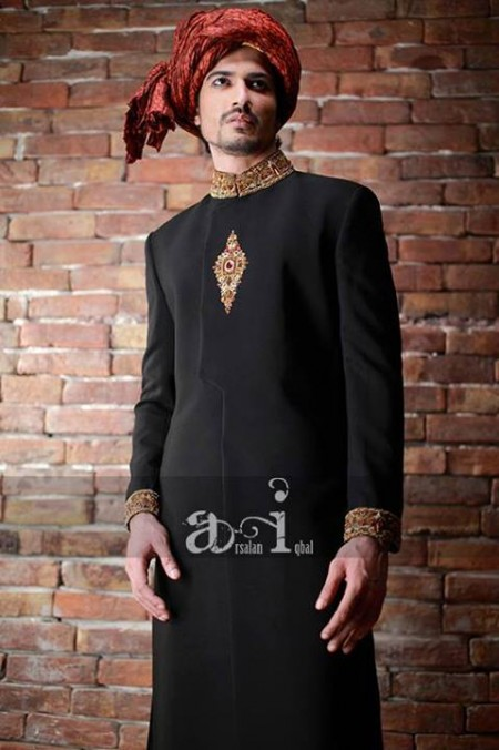 Arsalan Iqbal Sherwanis 2014 For Men