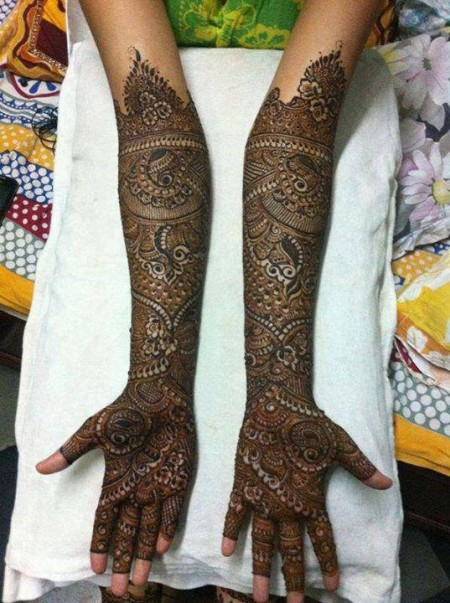 Bridal Mehndi Women Designs 2014 Bridal Mehndi Women