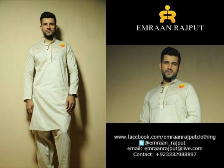 Emraan Rajput Men Formal Wear Kurtas 2014