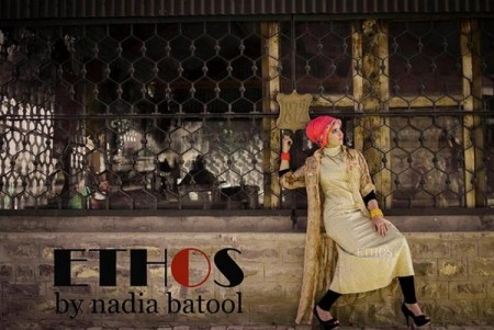 Ethos By Nadia Batool Winter Dresses 2014 For Women