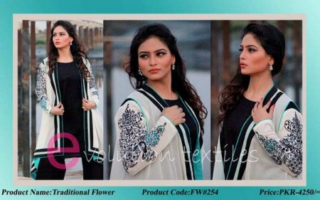 Evolution Textile Winter Dresses 2014 For Women