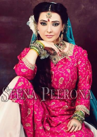 Seena Peerona Bridal Wear 2014 Dresses For Wedding